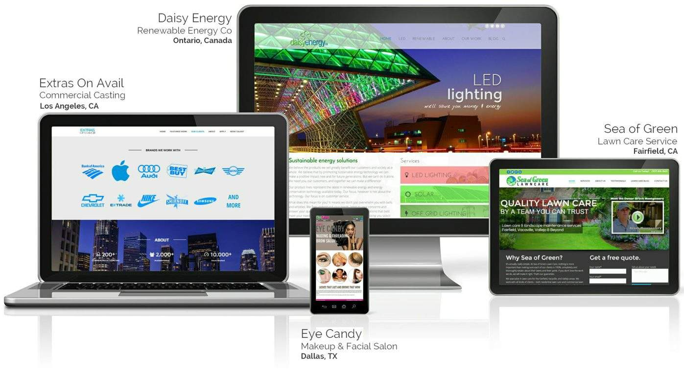 Small Business Website Design & Management